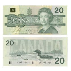 1991 -  1991 20-DOLLAR NOTE, BONIN/THIESSEN (AU)