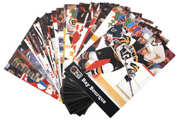 1991-92 HOCKEY -  PRO SET PUCK CANDY (40 CARDS)