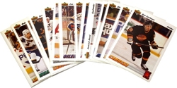 1991-92 HOCKEY -  UPPER DECK EURO-STARS (18 CARDS)
