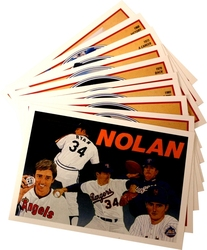 1991 BASEBALL -  BASEBALL NOLAN RYAN HEROES SET (10 CARDS)