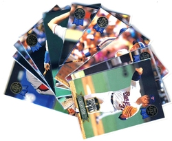 1993 BASEBALL -  LEAF HEADING FOR THE HALL SET (10 CARDS)