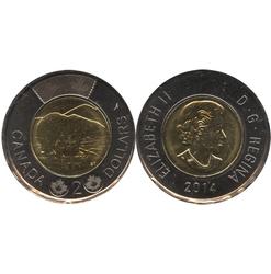 2-DOLLAR -  2014 2-DOLLAR - PROOF-LIKE (PL) -  2014 CANADIAN COINS