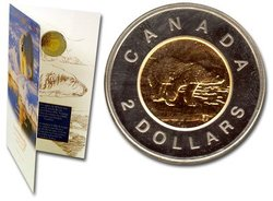 2 DOLLARS -  UNCIRCULATED 2 DOLLARS COIN -  1996 CANADIAN COINS
