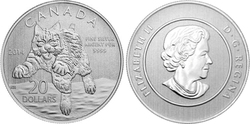 20$ FOR 20$ -  BOBCAT -  2014 CANADIAN COINS 12