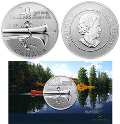 20$ FOR 20$ -  CANOE -  2011 CANADIAN COINS 02