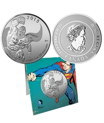 20$ FOR 20$ -  DC COMICS(TM) - SUPERMAN(TM) -  2015 CANADIAN COINS 17