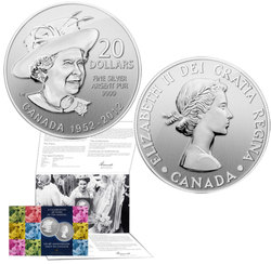 20$ FOR 20$ -  QUEEN ELIZABETH II DIAMOND JUBILEE -  2012 CANADIAN COINS 04