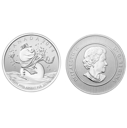 20$ FOR 20$ -  SNOWMAN -  2014 CANADIAN COINS 14