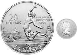 20$ FOR 20$ -  SUMMER -  2014 CANADIAN COINS 13