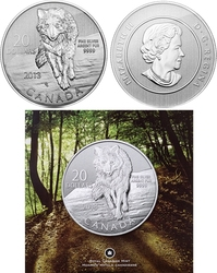 20$ FOR 20$ -  WOLF -  2013 CANADIAN COINS 08