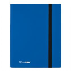 20-PAGE PORTFOLIO -  20 PAGES BLUE PRO-BINDER THAT HOLDS 360 CARDS