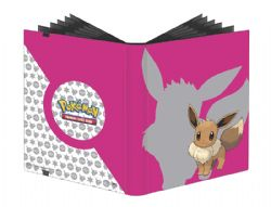20-PAGE PORTFOLIO -  20 PAGES EEVEE PRO-BINDER THAT HOLDS 360 CARDS 2019