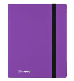 20-PAGE PORTFOLIO -  20 PAGES PURPLE PRO-BINDER THAT HOLDS 360 CARDS