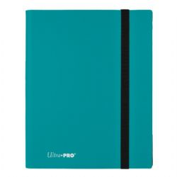 20-PAGE PORTFOLIO -  20 PAGES SKY BLUE PRO-BINDER THAT HOLDS 360 CARDS