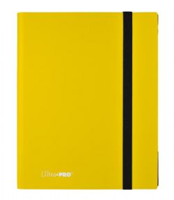 20-PAGE PORTFOLIO -  20 PAGES YELLOW PRO-BINDER THAT HOLDS 360 CARDS