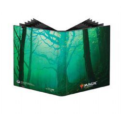 20-PAGE PORTFOLIO -  MTG UNSTABLE LANDS - FOREST - 20-PAGES PREMIUM PRO-BINDER (360 CARDS)