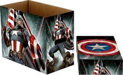 200 CAPTAIN AMERICA COMICS CARDBOARD BOX
