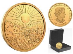 200-DOLLAR -  125TH ANNIVERSARY OF THE KLONDIKE GOLD RUSH -  2021 CANADIAN COINS