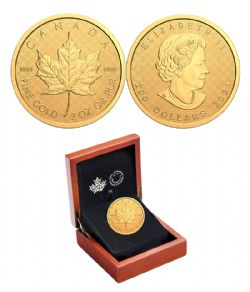 200-DOLLAR -  THE CLASSICAL MAPLE LEAF -  2021 CANADIAN COINS