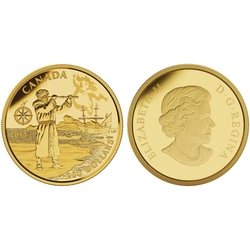 200 DOLLARS -  HENRY HUDSON - GREAT CANADIAN EXPLORERS -  2015 CANADIAN COINS 04