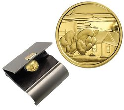 200 DOLLARS -  LIONEL LEMOINE FITZGERALD, HOUSES -  2003 CANADIAN COINS DR