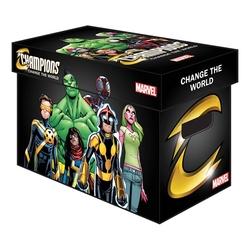 200 MARVEL CHAMPIONS COMICS CARDBOARD BOX