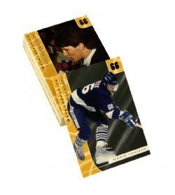 2001-02 HOCKEY -  SIGNATURE SERIES MARIO LEMIEUX RETROSPECTIVE (20 CARDS)