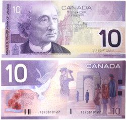 2001 -  2001 10-DOLLAR NOTE, KNIGHT/THIESSEN (GUNC)