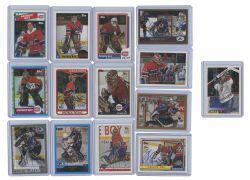 2002-03 HOCKEY -  TOPPS PATRICK ROY REPRINTS AUTOGRAPHED (14 CARDS) -  PATRICK ROY