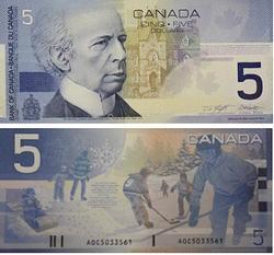 2002 -  2002 5-DOLLAR NOTE, KNIGHT/DODGE (GUNC)