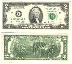 2003 -  UNITED STATES 2-DOLLAR BILL