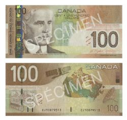 2004 -  2004 100-DOLLAR NOTE, JENKINS/DODGE (EF)