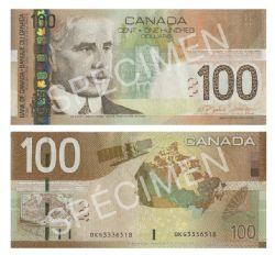 2004 -  2004 100-DOLLAR NOTE, JENKINS/DODGE (UNC)