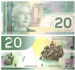 2004 -  2004 20-DOLLAR NOTE, JENKINS/CARNEY (UNC)