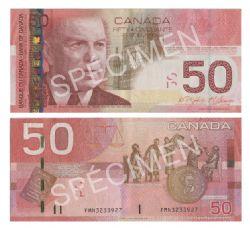 2004 -  2004 50-DOLLAR NOTE, JENKINS/CARNEY (EF)