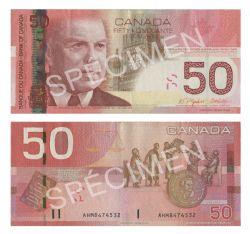 2004 -  2004 50-DOLLAR NOTE, JENKINS/DODGE (EF)