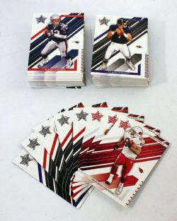 2004 FOOTBALL -  ROOKIES & STARS SET (100 CARDS)