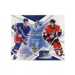 2005-06 HOCKEY -  UD SPX (P4/B18) (BOX ONLY)