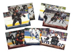2005-06 HOCKEY -  UPPER DECK ROOKIE CLASS COMMEMORATIVE BOXTOPPERS (7 CARDS)