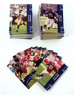 2005 FOOTBALL -  PANINI PLAYOFF PRESTIGE SET (150 CARDS)