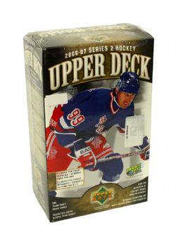 2006-07 HOCKEY -  UPPER DECK BLASTER SERIES 2 (10 PACKS OF 5 CARDS + 2 BONUS PACK)