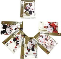2006-07 HOCKEY -  WOMEN TEAM CANADA - GOING FOR GOLD - 25 CARDS SET