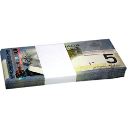 2006 -  2006 5-DOLLAR NOTE, JENKINS/CARNEY (CUNC-GUNC), PACK OF 100 NOTES