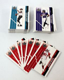 2006 FOOTBALL -  ROOKIES & STARS SET (100 CARDS)