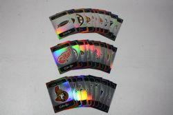 2007-08 HOCKEY -  UD VICTORY STARS ON ICE 50-CARD SET