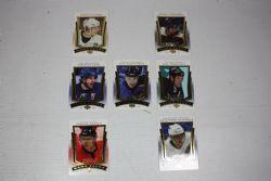2007-08 HOCKEY -  UPPER DECK MVP GAME FACE (7 CARDS)