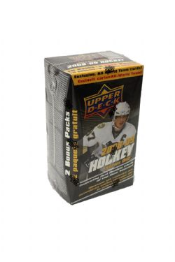 2008-09 HOCKEY -  UPPER DECK SERIES ONE BLASTER (B12)
