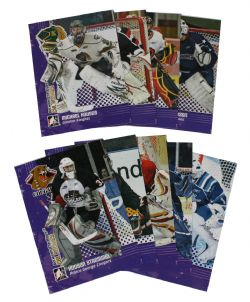 2009-10 HOCKEY -  BETWEEN THE PIPER CHL ROOKIES (9 CARDS)
