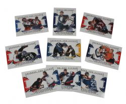 2009-10 HOCKEY -  BETWEEN THE PIPER NET BRAWLERS (9 CARDS)