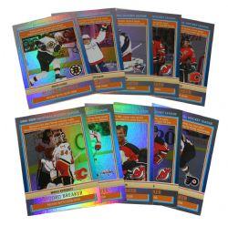 2009-10 HOCKEY -  O-PEE-CHEE RECORD BREAKERS (10 CARDS)